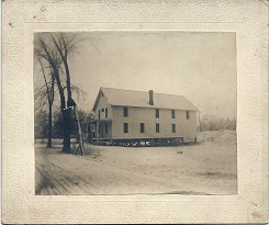 Cawasa Grange Hall dated 1901