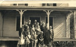 Cawasa Grange Officers 1931